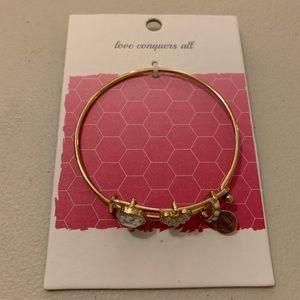 NWT Love Charm Bracelet